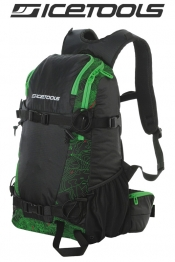 ICETOOLS Rucksack Backpack Arctic Vent 25L - Map Print