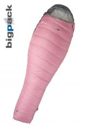 Bigpack Frauen-Schlafsack Feather&Light 900 Blue Berry +5/0/-16
