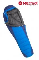 Marmot Schlafsack Sawtooth long -3/-10/-28 Cobalt Blue