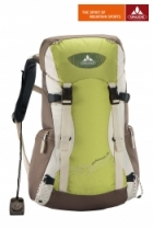 Vaude Frauen Rucksack Maremma 26 Liter - Lindengreen/Light Brown