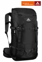 Vaude Rucksack Basic Rock 34+6 Liter - Black