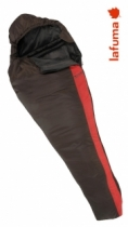Lafuma Schlafsack Extreme 950 Pro +8/+3/-12 Brown/Bright Red