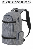 ICETOOLS Rucksack Backpack Getaway - Blue Tweed