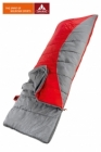 Vaude Schlafsack Navajo 900 Rect left +7/+2/-12 red