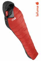 Lafuma Daunen-Schlafsack Warm´n Light 600 +10/+6/-7 Bright Red