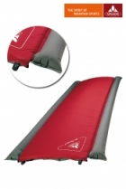 Vaude Isomatte Air Dream L 185x68x6,5cm - red/grey