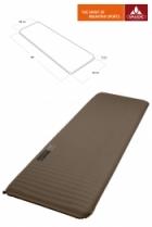 Vaude Isomatte Deluxe 198x66x6cm - Stonegrey