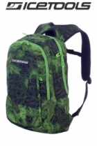 ICETOOLS Rucksack Backpack Core Pack - Map Print