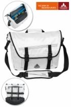 Vaude Luke M Umhängetasche Laptop-Tasche White