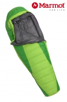 Marmot Schlafsack Woman's Angel Fire long -1/-7/-25 Green