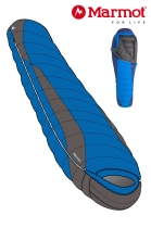 Marmot Schlafsack Palisade -1/-6/-23 Cobalt Blue
