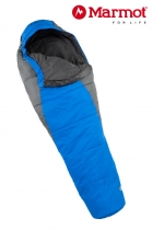 Marmot Schlafsack Wave I Reg +9/+5/-9 Cobalt Blue