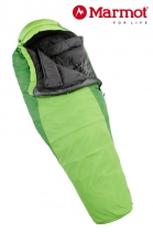 Marmot Schlafsack Wave III Woman Abstract Green