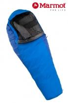 Marmot Schlafsack Wave IV Woman long Cylon Blue