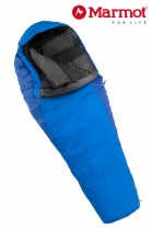 Marmot Schlafsack Wave IV Woman long Cylon Blue