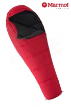 Marmot Schlafsack Wave I Reg +9/+5/-9 real red fire