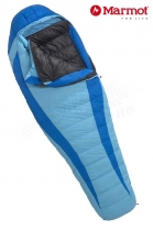 Marmot Schlafsack Woman's Angel Fire long -1/-7/-25 Summer Blue