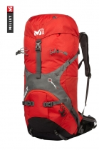Millet AXPEL 42 Liter Rucksack Mountaineering Alpin Backpack Red