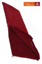 Vaude Schlafsack Navajo 900 Rect left +7/+2/-12 dark red